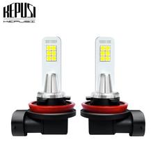 2x H11 Led Fog Lamp white 3030 12SMD H8 H9 Auto Bulb Car Motor Truck Driving Daytime Running Light LED Bulbs 12V 24V