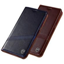 עור פרה אמיתי עור נרתיק עבור Samsung Galaxy A71 A11 A21 A31 A41 A51 A70E A71 A81 A91 M31 M21 טלפון מקרה מגנטי coque