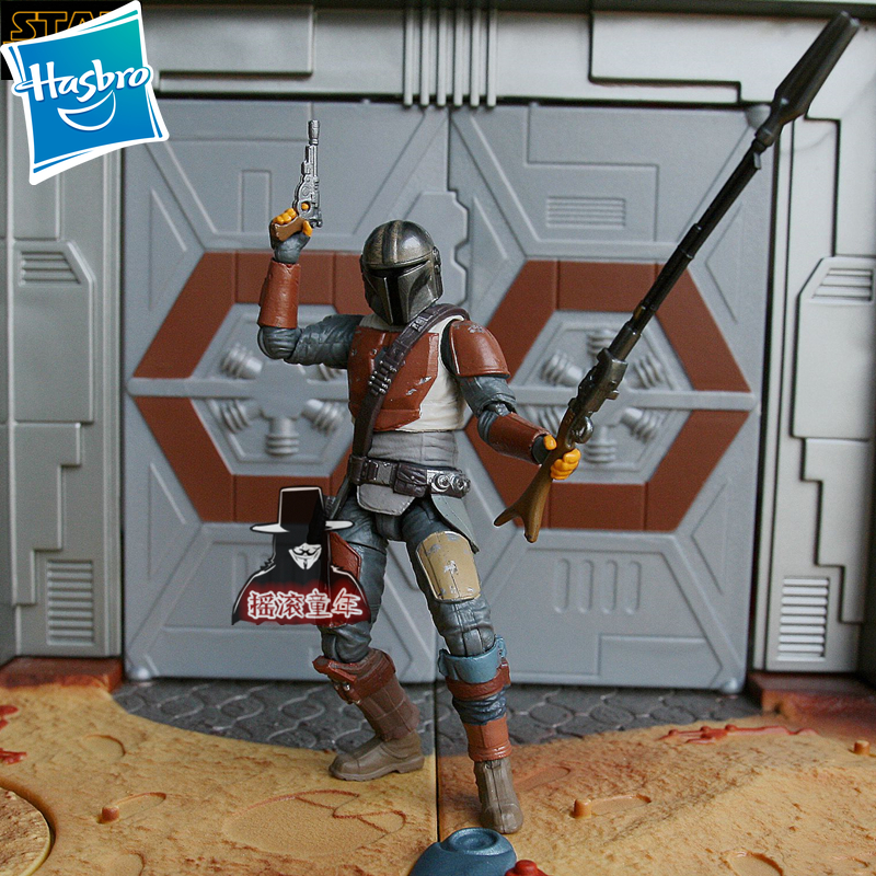 12.5cm Hasbro Star Wars The Mandalorian Action Figure Collection Toys For Christmas Gift