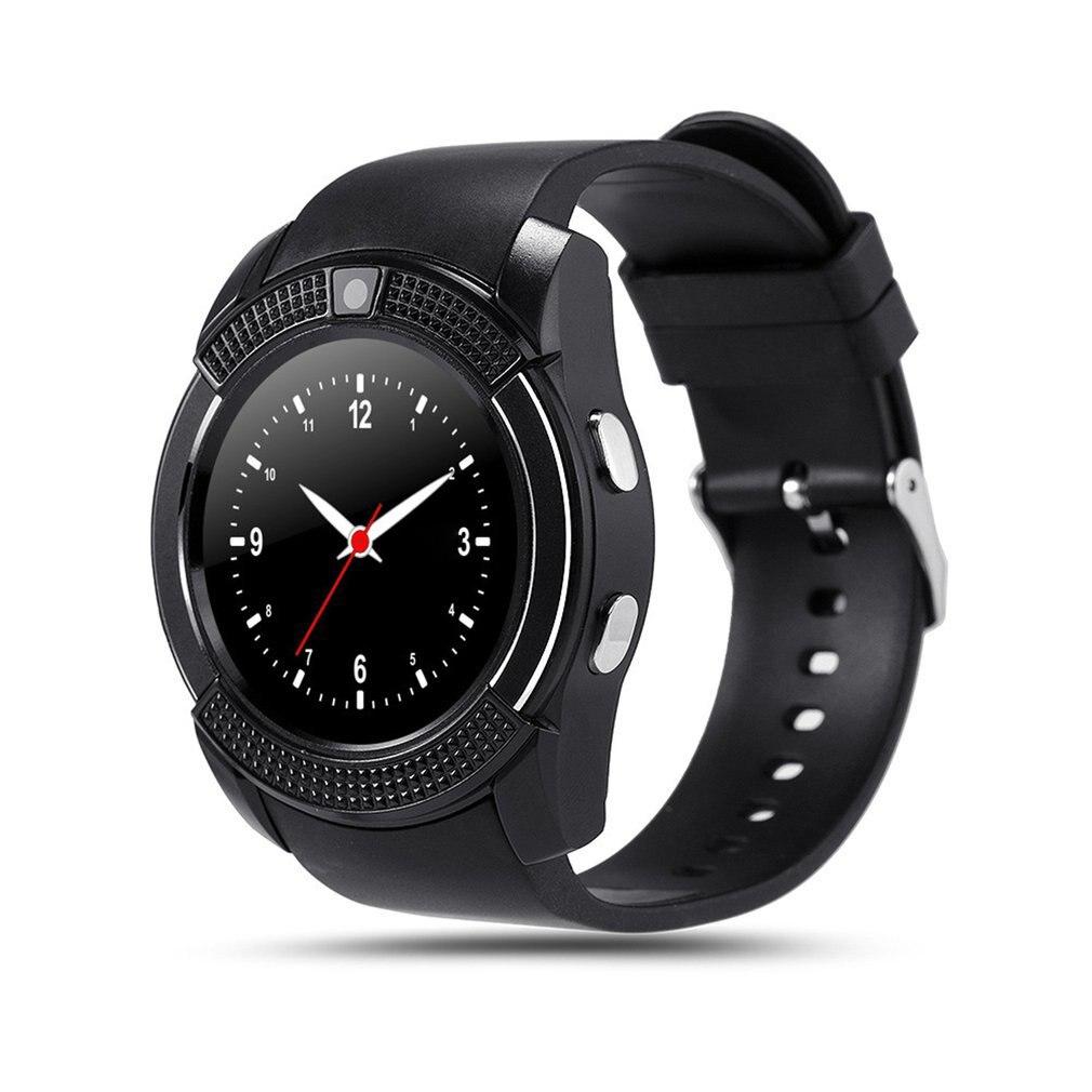 Wasserdichte Intelligente Uhr Männer mit Kamera Bluetooth Smartwatch Schrittzähler Herz Rate Monitor Sim Karte Armbanduhr
