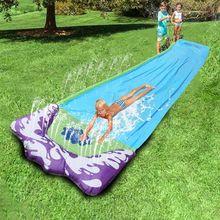 Water-Slides-Pools Lawn Toys Games Backyard Surf Outdoor Kids Children Summer Giant Fun