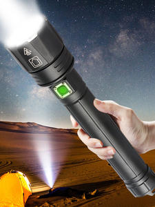LED Flashlight Lantern Riding-Light Powerful XHP90.2 Usb Rechargeable XHP70 Camping Power-By-26650/18650