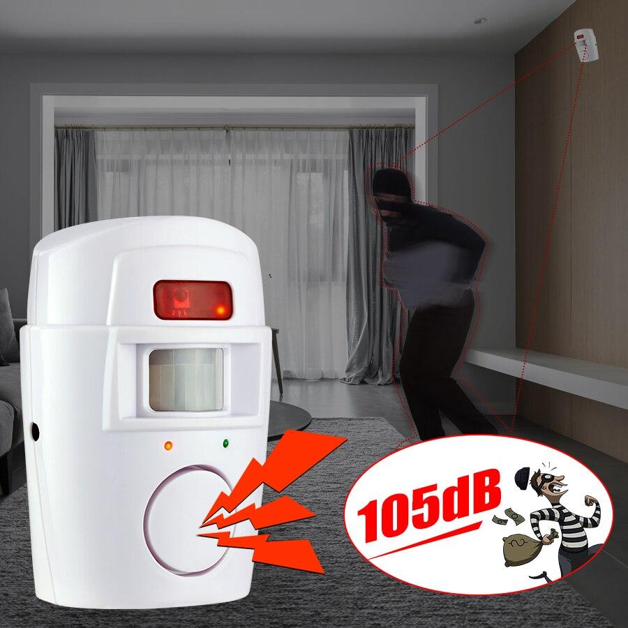 KERUI Alarm Motion-Detector Remote-Control Infrared-Sensor Alert Anti-Theft Home Security