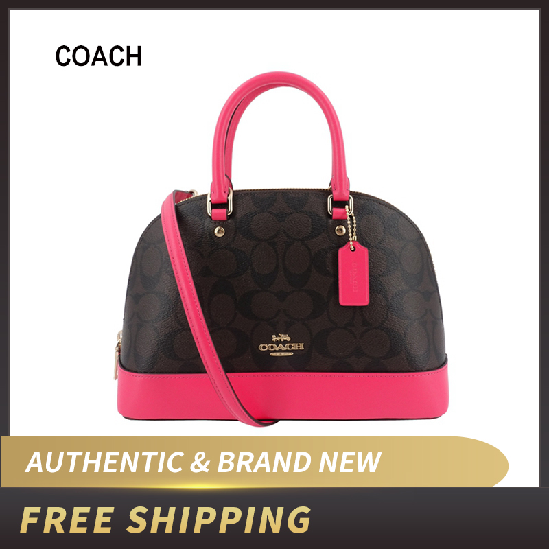 Coach Ladies Shoulder Inclined Shoulder Handbag Mini Sierra Satchel Purse F27583/F66878/F51664/F87664/F87663