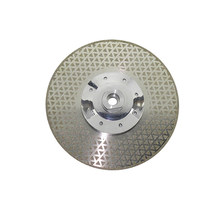 1pc M14 Thread Grinding Wheel For Cutting Marble Tile Both Sides Electroplated Galvanized Diamond Cutting Grinding Blade