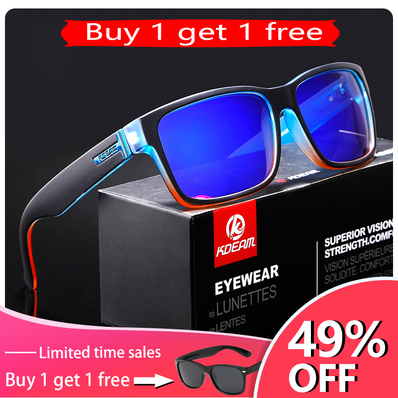 KDEAM Revamp Of Sport Men Sunglasses Polarized KDEAM Shockingly Colors Sun