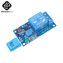 HR202 DC 5V 1 Channel 1CH Humidity Sensitive Switch Relay Mo