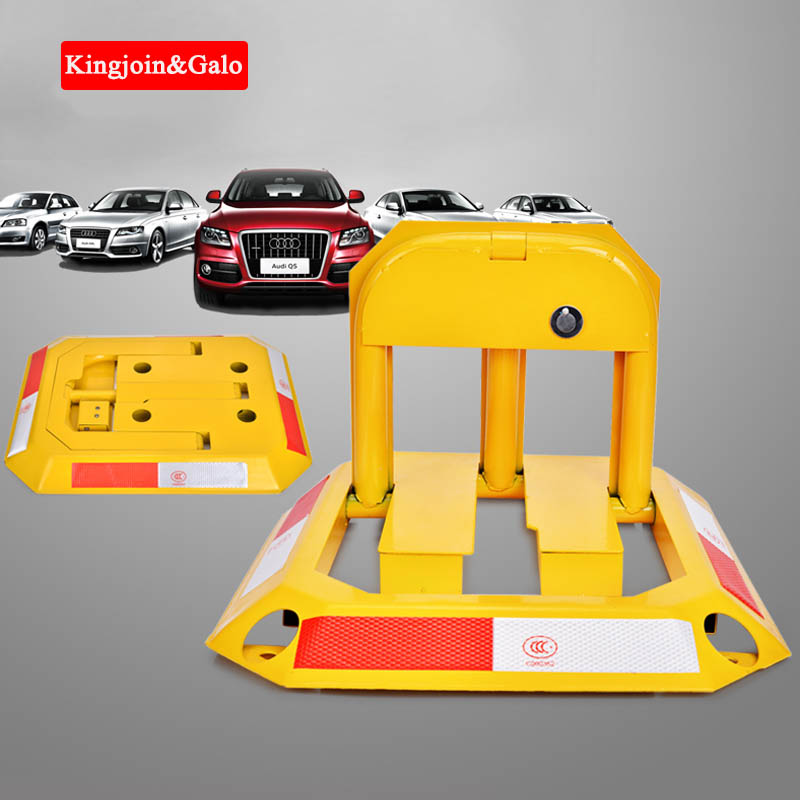 Octagon Steel Car Parking Blocker,car Parking Barrier,Manual Parking Lock Bollard Post Ground Lock Thickened Anti-collision