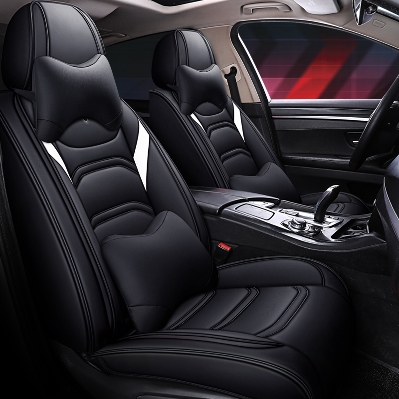 Full Coverage Eco-leather auto seats covers PU Leather Car Seat Covers for <font><b>toyota</b></font> c-hr chr <font><b>corolla</b></font> <font><b>e150</b></font> <font><b>corolla</b></font> verso fortuner image
