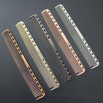 1pc Small Stainless Steel Hair Comb Professional Hairdressing Combs Hair Cutting Dying Hair Brush Barber Tools Salon Accessaries 1