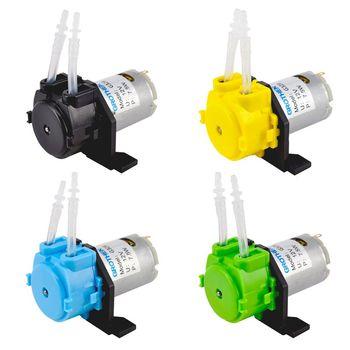 12V perystaltyczna DIY akwarium pompa dozująca środki chemiczne głowica rury B2QB tanie i dobre opinie CN (pochodzenie) Peristaltic pump Z tworzywa sztucznego