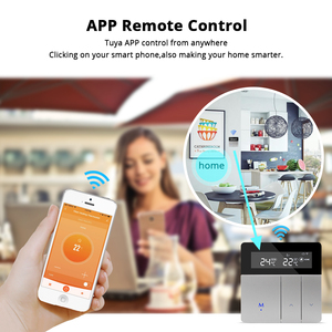 Image 4 - Zemismart Tuya wifi Thermostat for Electric Heater Water Radiant Floor Heating Alexa Google Home Enable Temperature Controlled