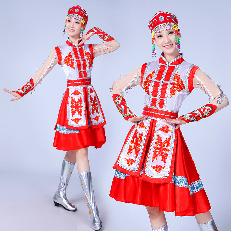 Chinese Traditional  Dance Costume Ancient Chinese Dress Carnaval Volwassen Kostuums Stage Show Costume For Woman Dresses