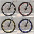 Shimano xt 776 aro da roda adesivos/decalques de bicicleta de montanha/bicicleta aro decalques para mtb frete grátis