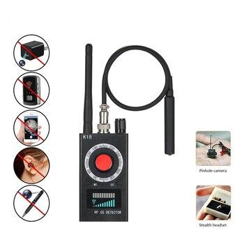 Anti Spy Wireless RF Signal Detector Bug GSM GPS Tracker Hidden Camera Eavesdropping Device Military Professional K68 VS K88 K18 6