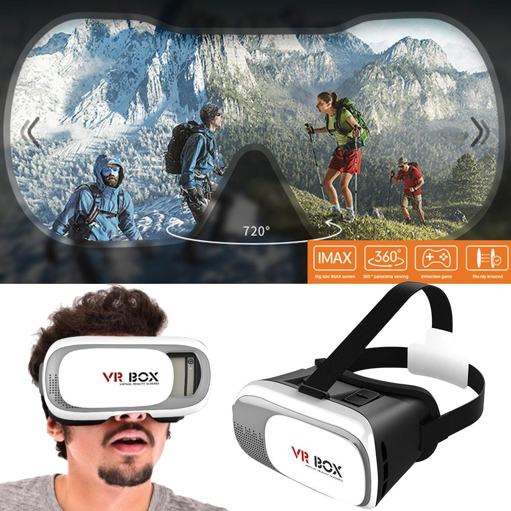 vr box 2.0 virtual reality 3d goggles for android & ios smartphone