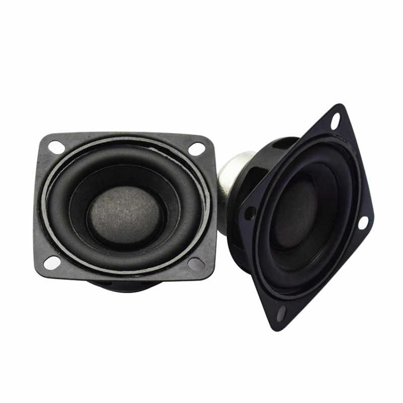 TONLEN 2pcs 8 ohm Full Range Speaker 2 inch DIY Portable