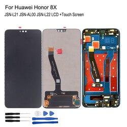 Pour Huawei Honor 8X LCD affichage JSN-L21 JSN-AL00 JSN-L22 écran tactile numériseur pièces de réparation pour Honor 8X LCD affichage avec cadre