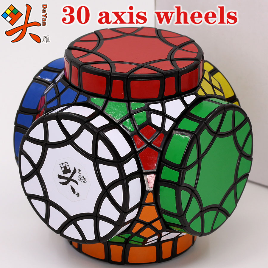 Magic Cube Puzzle DaYan  Cube 30 Axis Wheels Special Shape Educational Twit Wisdom Creative Game Toys Cube
