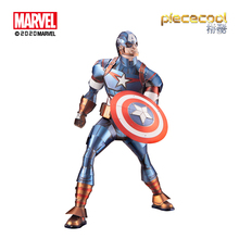 Piece cool 3D Metal Puzzle Shield warrior model KITS Assemble Jigsaw Puzzle DIY Gift Toys For Children