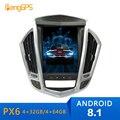 Android 8.1 4+64 Tesla system car no dvd player radio gps automatic For Cadillac SRX 2009 2010 2011 2012 navigation headunit