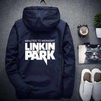 Linkin Park куртка Светоотражающая Мужская/Женская ветровка Хип-Хоп куртка с капюшоном пальто