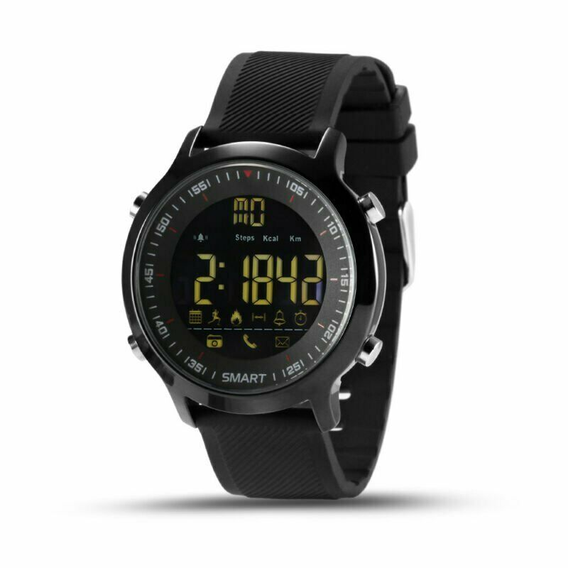 <font><b>Smart</b></font> <font><b>Watch</b></font> <font><b>EX18</b></font> Sport Waterproof pedometers Message Reminder Bluetooth Outdoor swimming men smartwatch for ios Android XIAOMI image