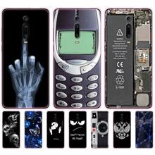 ソフトシリコン電話ケースxiaomi redmi K20 mi 9 tバックカバーケースxiaomi redmi K20 プロmi 9tプロcoque fundasかわいい