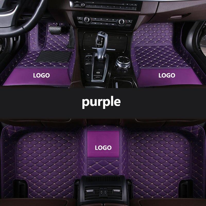 kalaisike Custom LOGO car floor mats for Infiniti all models JX G M QX50 QX60 QX56 QX50 Q70L Q50 Q60 QX80 QX70 FX EX EX35 FX37