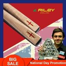 RILEY RES400 Snooker Cue 3/4Split 9.5mm Deer Master Tip Professional Ashwood Shaft Ebony Butt Billar with Extension