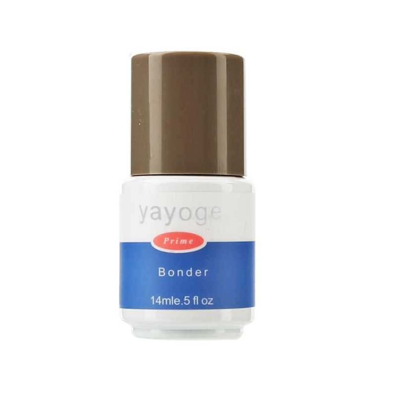 Yayoge 1Pcs 14Ml Base Coat UV Gel Nail Primer Akrilik Tahan Bonder Tidak Berbau Base Coat Top Coat untuk gel Polandia Seni Lacquer