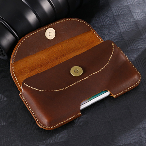 Image 3 - SZLHRSD For Xiaomi Mi Max 3 max 2 mix 2S Redmi 6A Case Genuine Leather Holster Belt Clip Pouch Funda Cover Waist Bag Phone cover