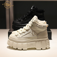 RY RELAA sneakers women 2018 fashion Genuine Leather luxury shoes women designers ins style platform sneakers casual shoes women