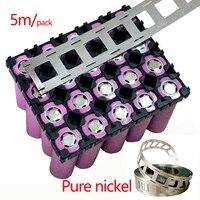 5 m/pacote 0.15*27mm Tira 2P tira de níquel de Alta Pureza de Níquel Puro Usado Para Solda A Ponto Máquina de Soldadura 18650 Bateria De Lítio|Solda ponto| |  -