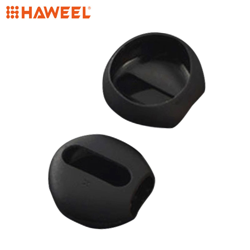 HAWEEL 2pcs/pair Ear Pads For Airpods Wireless Bluetooth For Iphone 7 AirPods Silicone Ear Caps Earphone Case Earpads Eartips