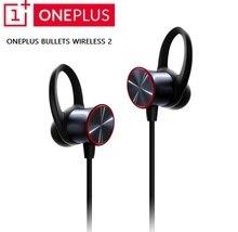 Оригинальные беспроводные наушники OnePlus Bullets 2, гибридные наушники AptX с магнитным управлением, Google Assistant, быстрая зарядка для Oneplus 7/7 Pro/6 t