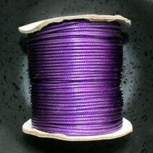 80 м/рулон 2 мм вощеный ватный шнур провода поделки из бисера макраме струны ювелирных изделий H1