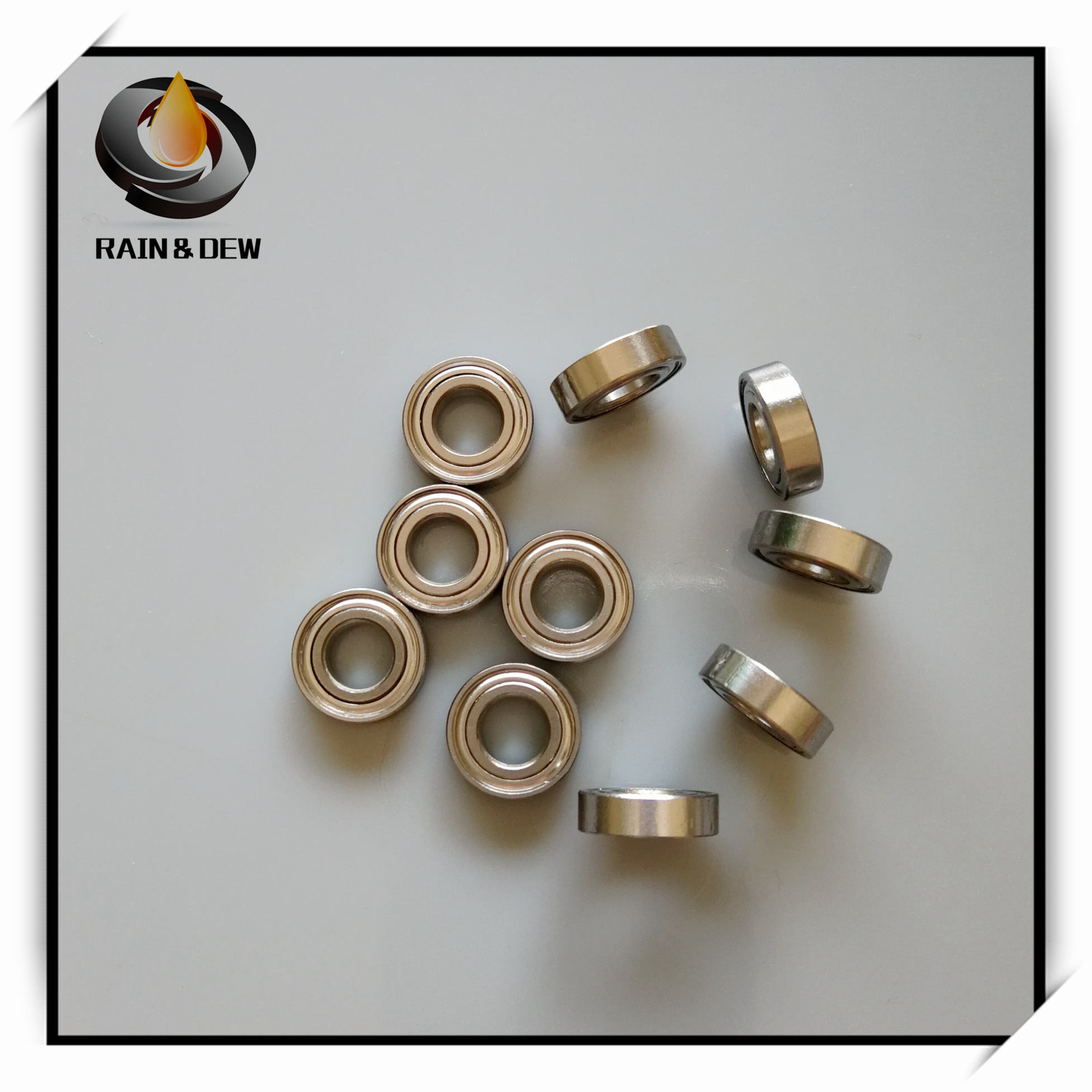 10Pcs S689ZZ Stainless Steel Ball Bearings ABEC-7 9x17x5 Mm  Stainless Steel S689Z S689 Z ZZ Ball Bearings