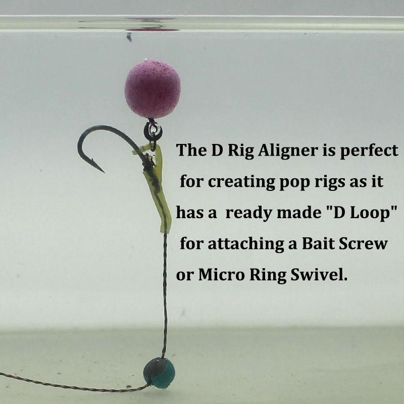 Details about  /Carp Fishing Accessories Hook Sleeves Ready D-Rig Aligner Rigs Terminal Tackle