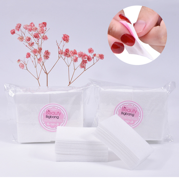 100PCS Nail Cotton wipe towel Nail Gel Polish Clean Removal lint-free wipes Soak Off Clean gel varnish Pad Napkins Wraps tools