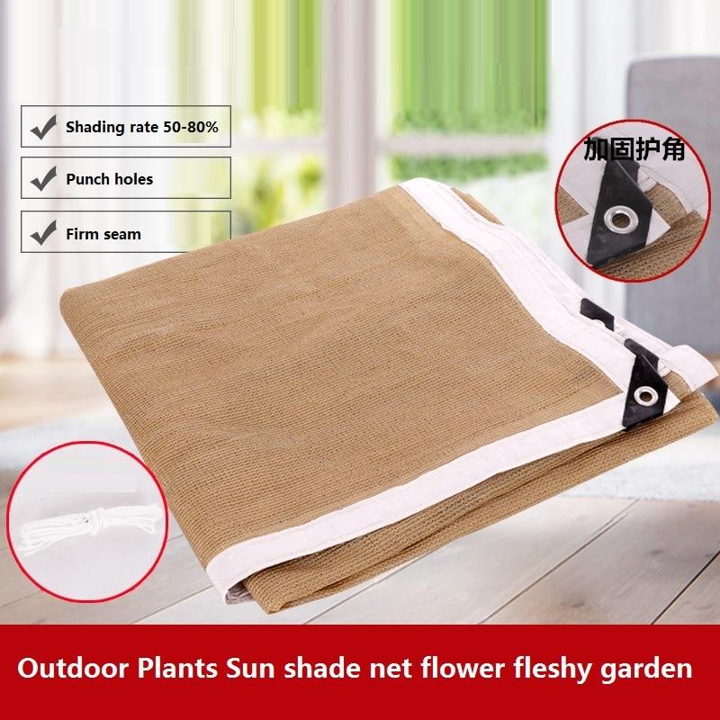 Sun Room Aluminum foil Cooling Sunshade Balcony Garden Flower Green Plant Insulation net Tent net Shading net Sunshade net
