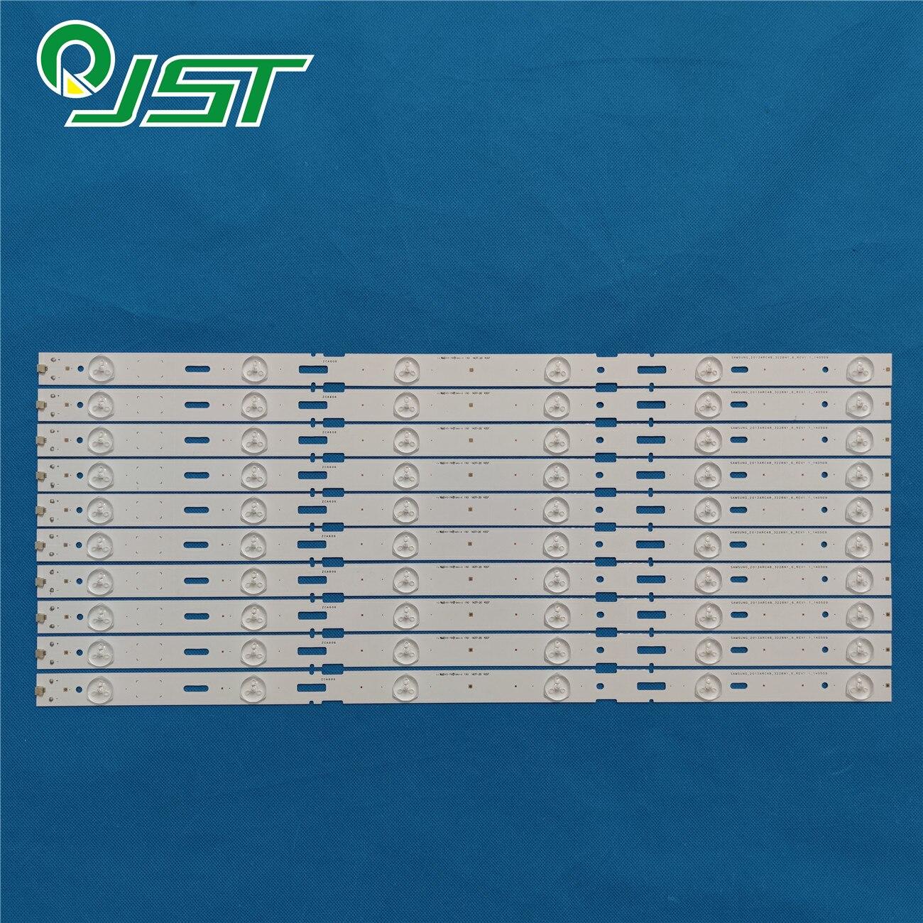 Новинка 100% года, 10 шт./комплект светодиодных лент для GRUNDIG 48 TV 48 VLE 6520 BH 48VLE 6520 BH 48VLE6520 BH 48VLE6520BH