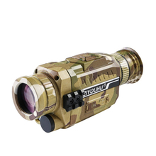 New infrared digital night vision single tube camouflage 8G TF card 5*35 200M optical range hunting night vision monocular