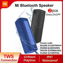 Bluetooth Speaker Connection Sound-Ipx7 Waterproof Xiaomi Outdoor Mi Portable 13-Hours-Playtime