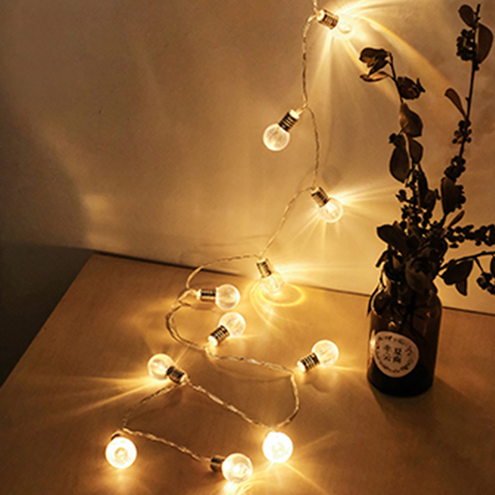 10pcs Led Bulb 1 5m String Light