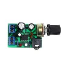 цена на LM386 Mini Audio Power Amplifier Board DC 3V~12V 5V Module Adjustable Volume