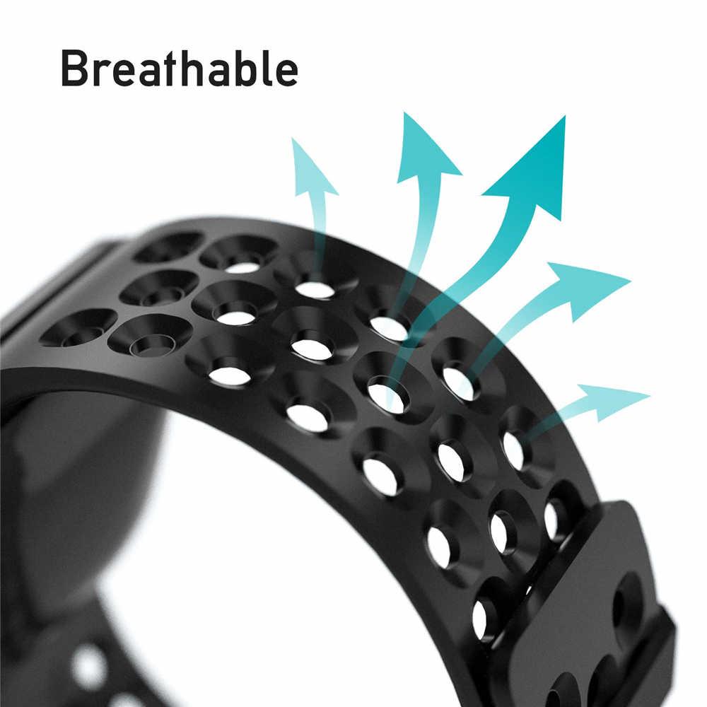 Correa de repuesto para Fitbit versal 2 silicona suave resistente al agua accesorios deportivos correa de reloj para Fitbit versal/versal 2 banda