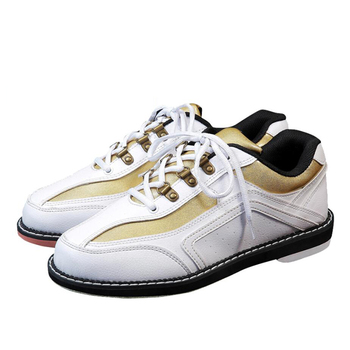 Professional bowling shoes high quality men's and women's leather non-slip wear-resistant sneakers comfortable indoor bowling