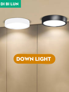 LED Downlight Ceiling-Lamps Surface-Mounted 15w-Panel Kitchen Mini Ultra-Thin AC85-265V