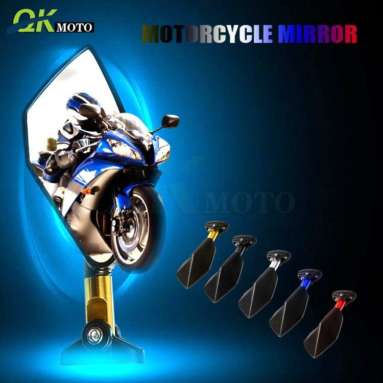 Rétroviseurs universels de haute qualité rétroviseurs moto CNC en aluminium nouveaux accessoires pour Yamaha MT 07 09 YZF R1 R3 R6